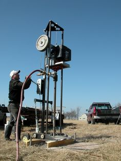 Do you need to drill a water well? Do you want to learn how to drill your own wells? DIY information available here.-- Click-Here- Order- Wind Power Generator, Water Well Drilling, Oil Platform, Drilling Tools, Geothermal Energy, Solar Energy System, Diy Solar, Water Supply, Oil And Gas