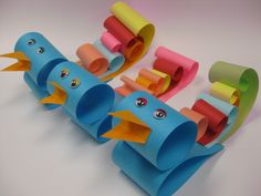 These delightful birds were featured among the craft ideas at our April Paper Crafts Program!