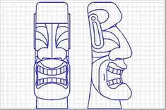 My First Tiki-Style Carvings -- Tiki Central