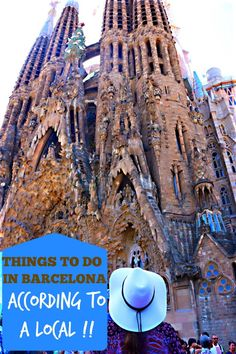 Eens kijken of Antonio dit ook de top 5 vindt 😊 Top 5 Things To Do In Barcelona According To A Local Oh The Places You'll Go, Places To Travel, Stuff To Do, Things To Do, Bali, Europe Holidays, Cruise Destinations, Barcelona Travel, European Vacation
