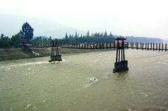 Dujiangyan.  The water dam in China built in 200 B.C.