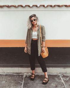 Women's Fashion Tips .Women's Fashion Tips Curvy Outfits, Simple Outfits, Casual Outfits, Fashion Outfits, Womens Fashion, Fall Fashion, Fashion Tips, Looks Style, Casual Looks