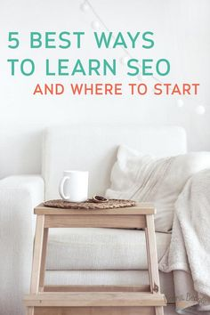 5 Best Ways to Learn SEO with a huge list of SEO resources and courses. Be sure to sign up for the beginners SEO course for Bloggers!
