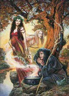 The Wiccan Way P3 With loving care I heed and tend My body: Temple, Guide, and friend I'll study well a year and day,  Apply the wisdom of the fey,  Attend all that the Earth proclaims Ere a Wiccan I be named Though all for naught, unless I see The Pentacle inside of me! My subtle sense I cultivate For energies that emanate I trust the Voice inside that knows What eyes may miss but Goddess shows Four Powers of the Witch fulfil: Know, Will, Dare, and then Be