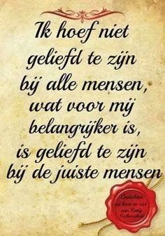 Geliefd zijn Heart Quotes, Words Quotes, Sayings, Some Quotes, Daily Quotes, Love Words, Beautiful Words, Lifetime Quotes, Dutch Quotes