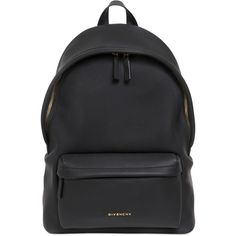 GIVENCHY Rubber Effect Backpack With Star Studs ($1,385) ❤ liked on Polyvore featuring bags, backpacks, sacs, black, backpacks bags, rucksack bag, givenchy backpack, rubber bag and black top handle bag