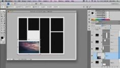 Blogger How to: Making templates for photos in photoshop