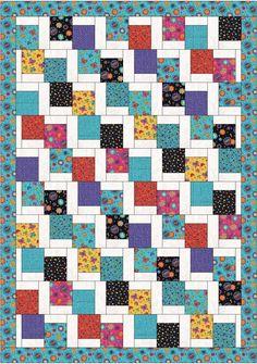 Farm Fresh Fabrics - Tumbling Charms Quilt - farmfreshfabrics.com