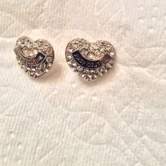 Juicy Couture Earrings - NEW LISTING I don't think these are authentic, but they are still super cute!! Jewelry Earrings