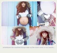 Cute winter maternity pictures!