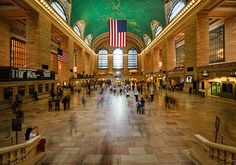 New York - Grand Central Terminal, one of the two sights i saw when i was there for one unforgettable night