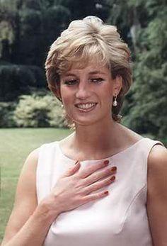 I like Princess Diana's nail polish. - Yvonne