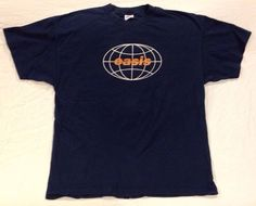 Vintage-Oasis-Shirt-XL-1998-All-Around-The-World-Tour-USA-Canada-concert-tee