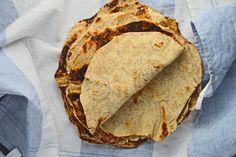 Gluten-free whole grain flour tortillas