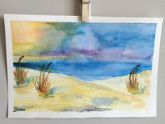 Summer Dunes by DanaWagnerStudio on Etsy