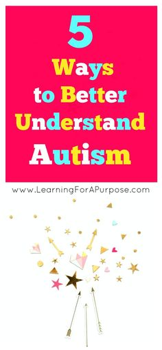 Do you want to learn more to help understand Autism? Check out the latest blog post here at www.learningforapurpose.com
