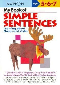My Book of Simple Sentences (Kumon Series)