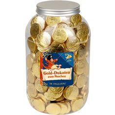 Wer liebt sie nicht? Gold-Dukaten zum Naschen Capt'n Sharky