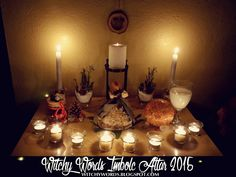 To see 2013's Imbolc altar, click here!   To see all sabbat altars, click here!   Imbolc is the half-way point between the longest night...