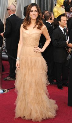 Kristen Wigg at the Oscars
