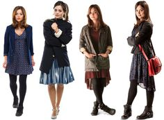 Get Clara Oswald's Style: Dr. Who. Tips on how to dress like Clara!