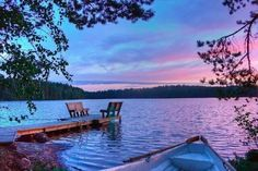 Finland possesses an impressive number of scenic sites,natural landscape and atmospheric phenomena,that certifies it as the ultimate summer destination. Maya, Dock Of The Bay, What A Wonderful World, Lake Life, Natural Wonders, The Great Outdoors, Wonders Of The World, Beautiful Places, Beautiful Scenery