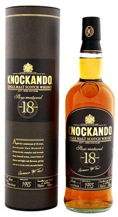 Knockando Slow Matured 18YO 1995/2013 whisky