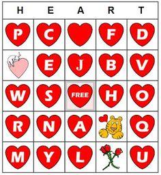 FREE Valentine's Bingo generator site