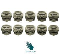 40K Games Workshop 5 Space Marine Vanguard Veteran Legs bits auction