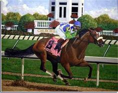 Giclee prints of original Barbaro horse paintings by Saratoga artist Nick Martinez depict the energy and passion of this 2007 Kentucky Derby winner. All The Pretty Horses, Beautiful Horses, Kentucky Derby, Triple Crown Winners, Derby Winners, Run For The Roses, Thoroughbred Horse, Racehorse, Horseback Riding