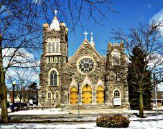 Roman Catholic Church, Lapeer, Michigan,USA