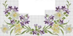 Cross Stitch Borders, Cross Stitch Flowers, Cross Stitch Designs, Cross Stitch Patterns, Easter Cross, Cross Paintings, Bargello, Blackwork, Cross Stitch Embroidery