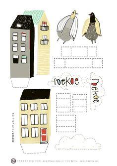 vlinspiratie: free download dutch illustrator kim welling via @Elle Bee meijerën D.I.Y. magazine