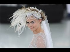 Chanel | Haute Couture Spring Summer 2014 Full Show | Exclusive; Love Love Love the production; cannot get into the styling; hair, tennis shoes or crop tops!
