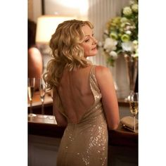 Movie Photos: KIM CATTRALL as Samantha Jones in New Line Cinema's... ❤ liked on Polyvore