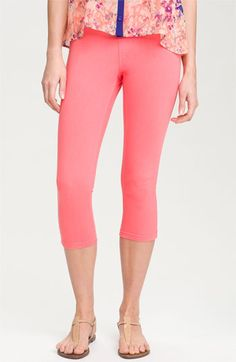 Hue 'Classic Jean' Capris available at #Nordstrom