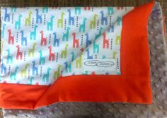 Baby and Childrens Blanket - kingergarden and car blanket, Minky and Flannelette Car Blanket, Children, Unique Jewelry, Handmade Gifts, Baby, Young Children, Kid Craft Gifts, Boys, Kids