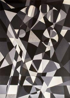 De ziel, schilderij van Christian van Hedel .. Kunst / Abstract / Modern / Schilderij