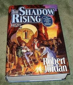 nice THE SHADOW RISING The Wheel of Time #4 by Robert Jordan ~ 1992 HCDJ 1st Ed. - For Sale View more at http://shipperscentral.com/wp/product/the-shadow-rising-the-wheel-of-time-4-by-robert-jordan-1992-hcdj-1st-ed-for-sale/