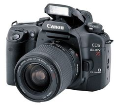 Canon EOS ELAN 7E 35mm SLR Camera Kit w/ 28-90mm Lens (Discontinued by Manufacturer) - For Sale