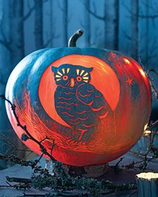 night owl pumpkin