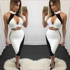 Bodysuits Gentle Hot Sale Elegant Bandage Skinny Bodysuit Halter Backless Hollow Out Mesh Sexy Women Body Con Celebrity Body Suits Wholesale