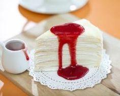 Gâteau de crêpes sans gluten au coulis de fruits rouges (facile, rapide) - Une recette CuisineAZ