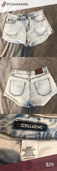 c31b695b20c I just added this listing on Poshmark  BILLABONG Jean Shorts.  shopmycloset   poshmark