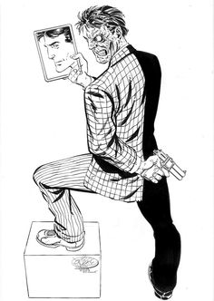 Two-Face by John Byrne
