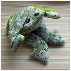 Handmade upcycled vintage Burgess Ledward Frome lavender filled frog - Personal Space Interiors - the home of fabulous handmade vintage, ret. Fabric Memo Boards, Creative Connections, Shabby Chic Fabric, Space Interiors, Cushion Fabric, Upcycled Vintage, Craft Items, Handmade Crafts, Dinosaur Stuffed Animal