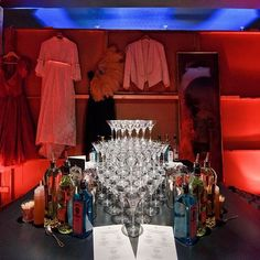 The bar set-up from another Shuttlecock #bespoke #immersive evening! #popup #events #london