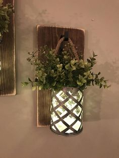 This is such a pretty sconce with a rustic feel #ad #rusticstyle #farmhousedecor