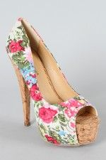 florals for summer time these would look so cute with a white dress <3