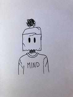 By me 💕 sketches easy simple Sad Drawings, Dark Art Drawings, Art Drawings Sketches Simple, Pencil Art Drawings, Doodle Drawings, Doodle Art, Cool Simple Drawings, Simple Tumblr Drawings, Graffiti Art Drawings